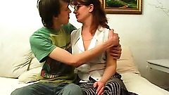 Mother seduce young boy