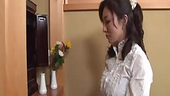 Japanese Mom Caught Nephew Jerking
